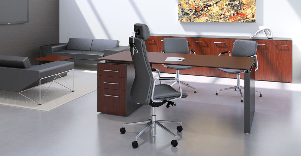 Designer Leather Office Chairs From The Designer Office