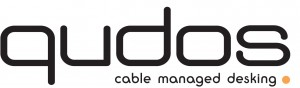 Qudos cable managed desking